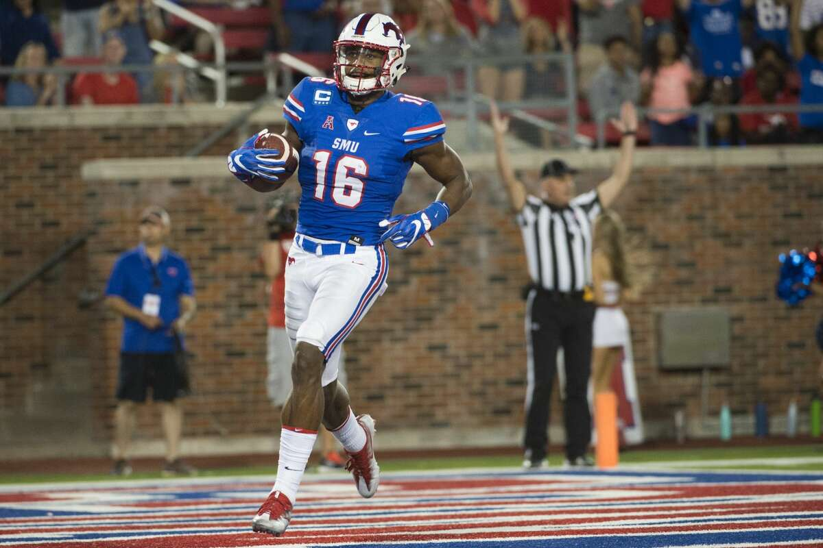 Courtland Sutton, WR, SMU (Brenham High School) 6-3, 218 pounds Picked: 2nd round, No. 40, Denver Broncos