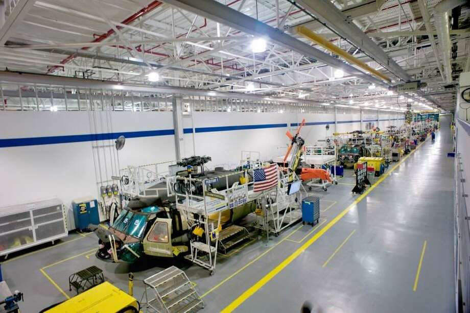 Helicopters under assembly in Palm Beach County, Fla., where Sikorsky has production and testing facilities in Jupiter. Photo: (File Photo Via Lockheed Martin)