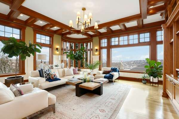 Incredible, resort-like mansion on Queen Anne hillside has everything from a pool to a theater to a roof deck. You may never leave.
