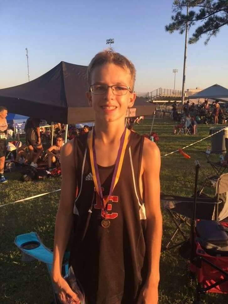 After having reconstructive knee surgery, Langham Creek freshmen Nolan Durham is currently running track and has placed at a recent track meet in the 3200-meter race.