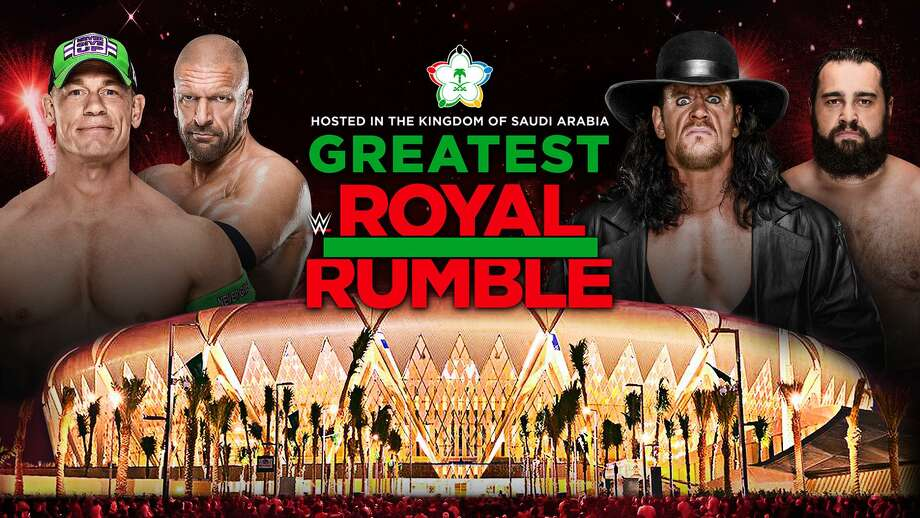 WWE will hold its Greatest Royal Rumble on April 27, 2018, in Jeddah, Saudi Arabia. The event will feature a 50-man Rumble match, but no women Superstars will participate. Photo: Contributed Photo