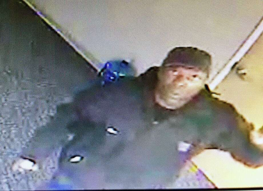 Fairfield police are looking for help in identifying this man who allegedly broke into offices in the Brick Walk early Tuesday morning. Fairfield,CT. 4/25/18 Photo: Contributed / Contributed Photo / Fairfield Citizen