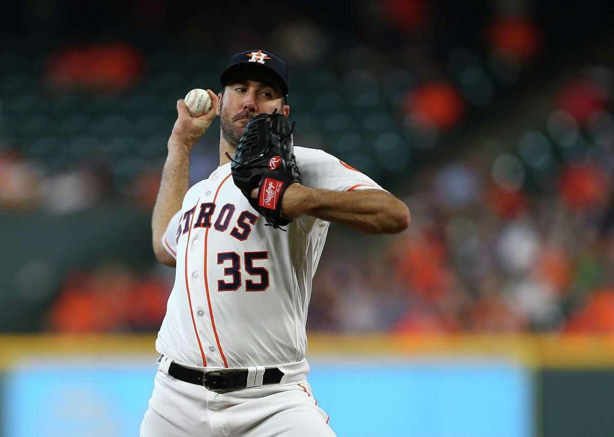 Justin Verlander's 11 Astros regular-season starts since last September have produced 9-0 record and a 1.22 ERA.