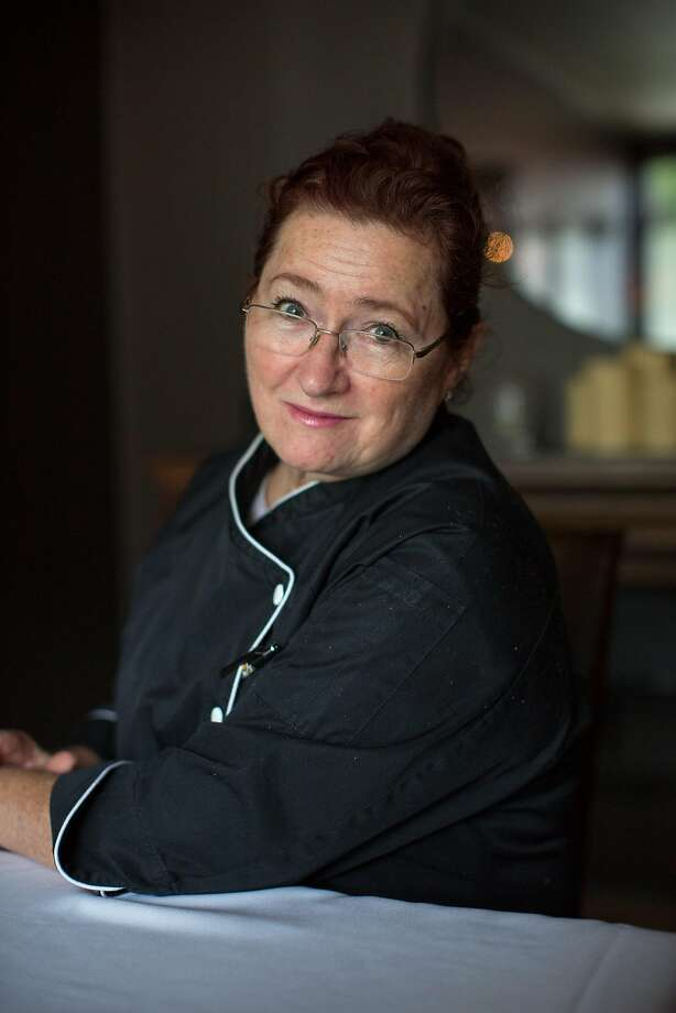 Suzette Gresham, chef, has her photo taken at Acquerello in San Francisco Calif., Tuesday March 24, 2015. Photo: Randi Lynn Beach / Special To The Chronicle 2015