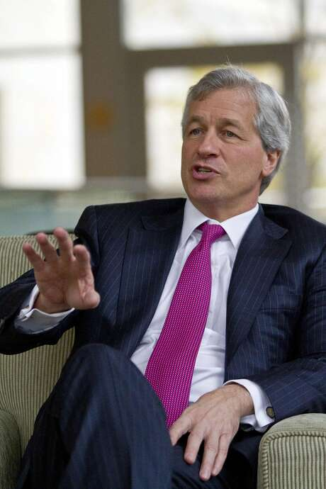 Jamie Dimon, JPMorgan Chase CEO, has gone out of his way not to criticize President Trump. Photo: Dean Rutz / Seattle Times 2011