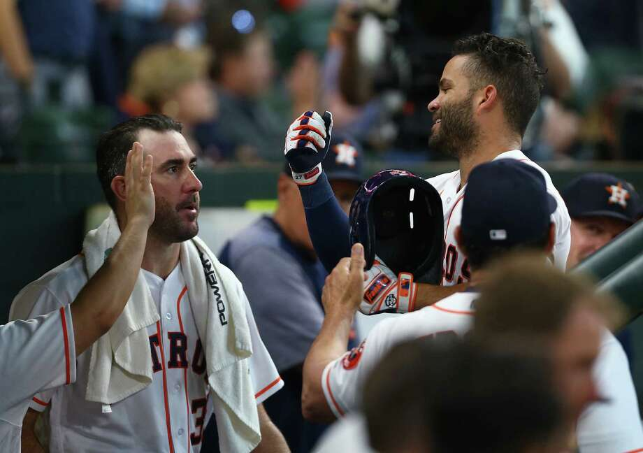 PHOTO: More shots from the Astros' win over the Angels on Wednesday afternoon