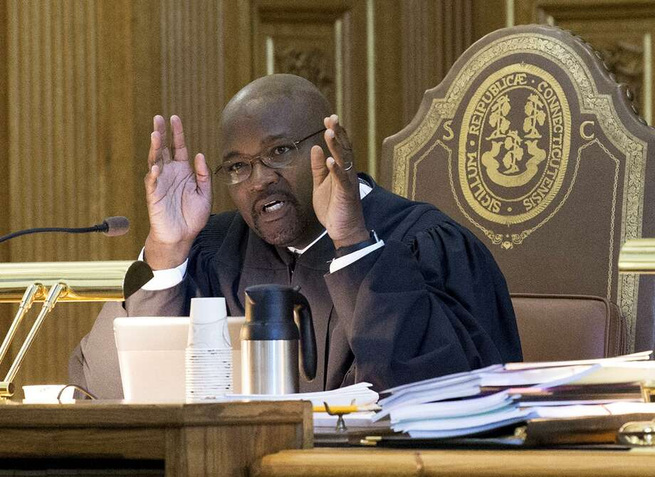 Associate Supreme Court Justice Richard A. Robinson, shown here in a 2017 file photo. Photo: Patrick Raycraft / Associated Press / Hartford Courant