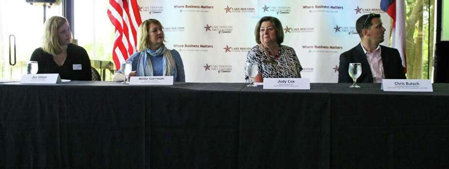 Local Lake Houston nonprofit organizations spoke at the Community Matters Luncheon on Tuesday at the Walden Country Club in Atascocita. Photo: Kaila Contreras