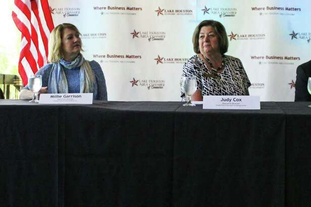 Local Lake Houston nonprofit organizations spoke at the Community Matters Luncheon on Tuesday at the Walden Country Club in Atascocita.