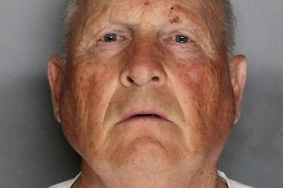 In a booking photo provided by the Sacramento County Sheriff's Department, Joseph James DeAngelo, a former police officer who was arrested on two counts of murder on April 25, 2018. Authorities said they believe that DeAngelo is the so-called Golden State Killer, a serial rapist and murderer who terrorized communities in California in the 1970s and 1980s. (Sacramento County Sheriff's Department via The New York Times) -- FOR EDITORIAL USE ONLY --