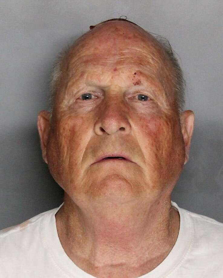In a booking photo provided by the Sacramento County Sheriff's Department, Joseph James DeAngelo, a former police officer who was arrested on two counts of murder on April 25, 2018. Authorities said they believe that DeAngelo is the so-called East Area Rapist and Golden State Killer, who is believed to have murdered 45 people and terrorized communities in California in the 1970s and 1980s. (Sacramento County Sheriff's Department via The New York Times) -- FOR EDITORIAL USE ONLY -- Photo: SACRAMENTO COUNTY SHERIFF'S DEPARTMENT;Sacramento County Sheriff's Department / New York Times