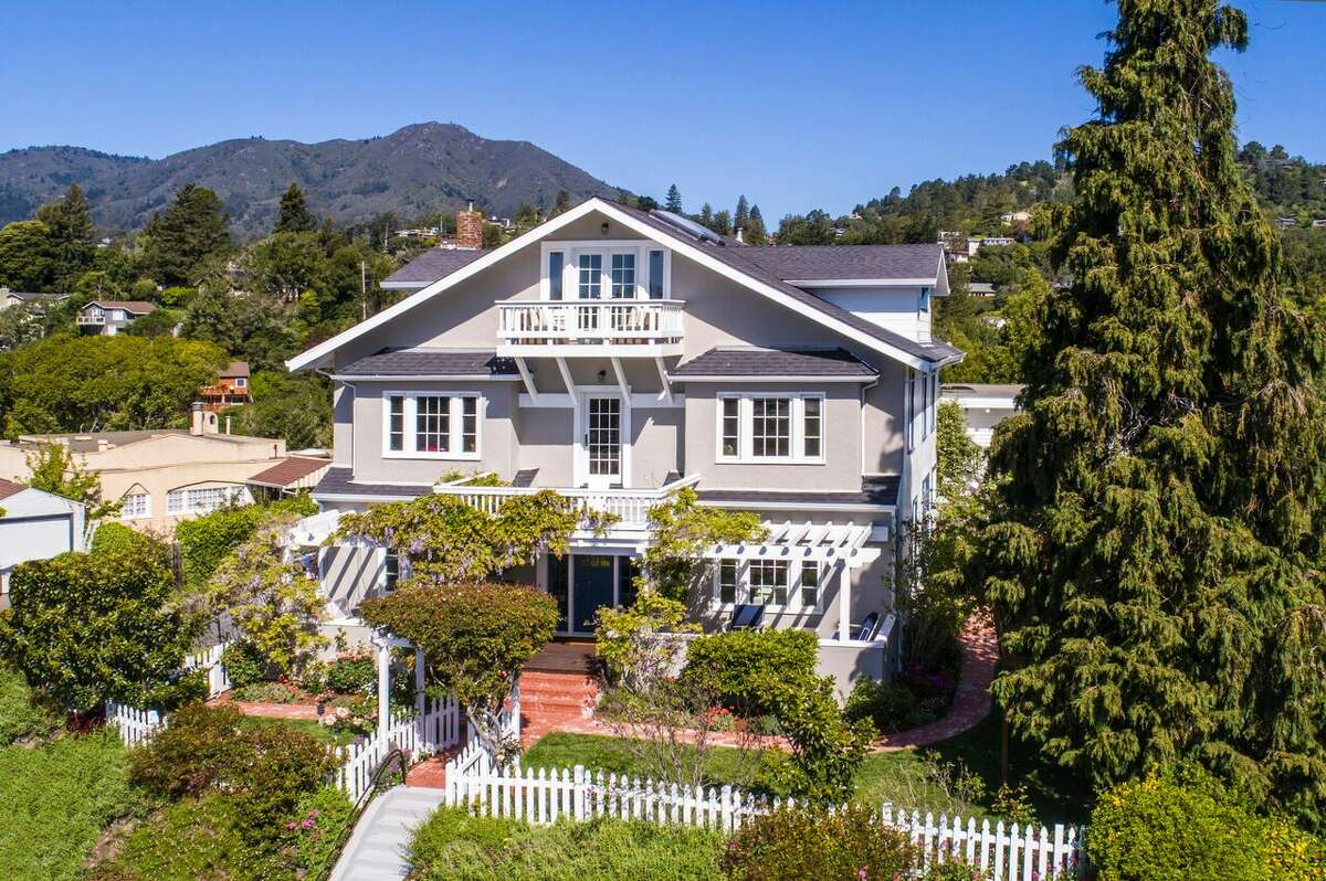 Elegantly updated and pristinely restored, Cypress Knoll is the oldest standing home (circa 1885) in Mill Valley and is listed for $4.995 million.