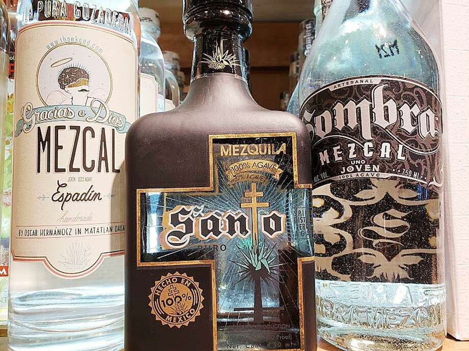 A wide range of Mezcal is available at Stew Leonard's in Norwalk. Photo: Frank Whitman / Contributed Photo / Norwalk Hour contributed