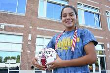 Tatiana Arias, a junior at Brien McMahon High School, is a Senator once again after transferring over the summer from Norwalk High. Arias started her varsity sports career at McMahon as a freshman before switching to Norwalk as a sophomore.
