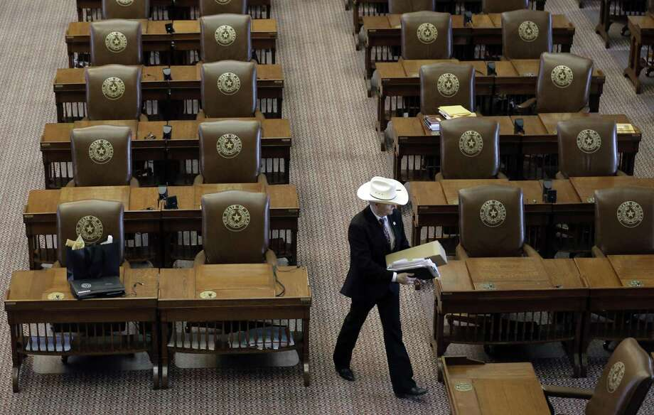 """The Texas Legislature redraws congressional and legislative district maps every 10 years following the census. It's unknown whether lawmakers will have to run those maps by the federal government, in a process called """"preclearance,"""" when they draw the next full set in 2021. (AP Photo/Eric Gay) Photo: Eric Gay, STF / AP / AP"""