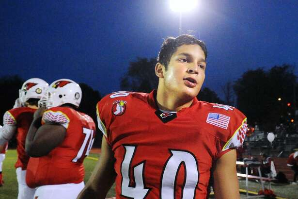Greenwich's Tysen Comizio rushed for 1,379 yards with 20 touchdowns last season.