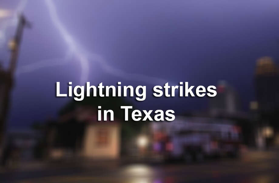 Click ahead to learn more about lightning strikes in Texas. Photo: Mysa