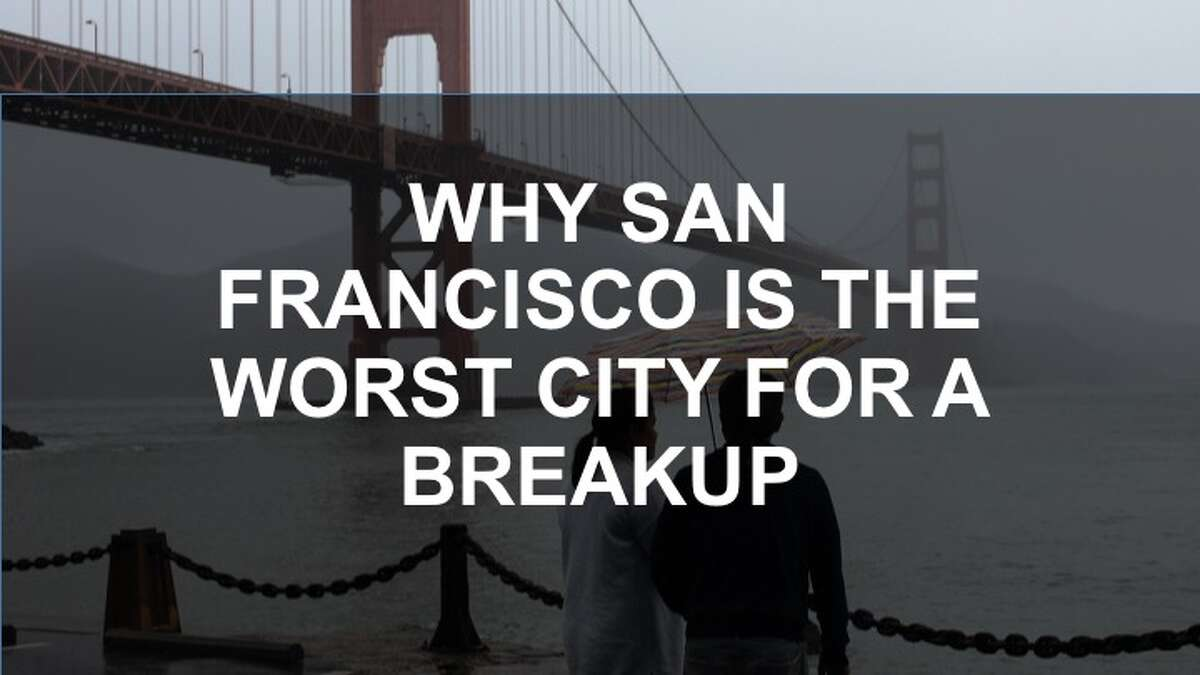 Click through the gallery for a roundup of all the ways SF makes breakups harder.