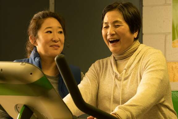 "Cheng Pei-Pei (right) and Sandra Oh star in Mina Shum's family drama, ""Meditation Park,"" which plays at CAAMFest 36 at the AMC Kabuki on May 15, 2018."
