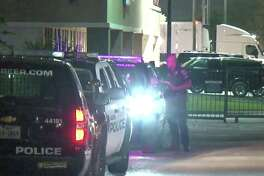 At least one person was shot at the apartment complex Wednesday evening in west Houston, police said.