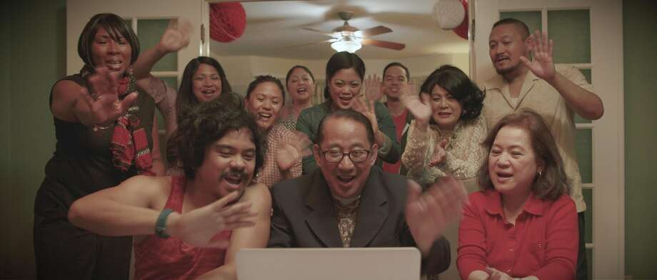 "A scene from H.P. Mendoza's San Francisco-shot Filipino American tragicomedy ""Bitter Melon,"" which makes its world premiere as a centerpiece presentation at CAAMFest 36 on May 12 at the AMC Kabuki. Photo: CAAMFest 36"