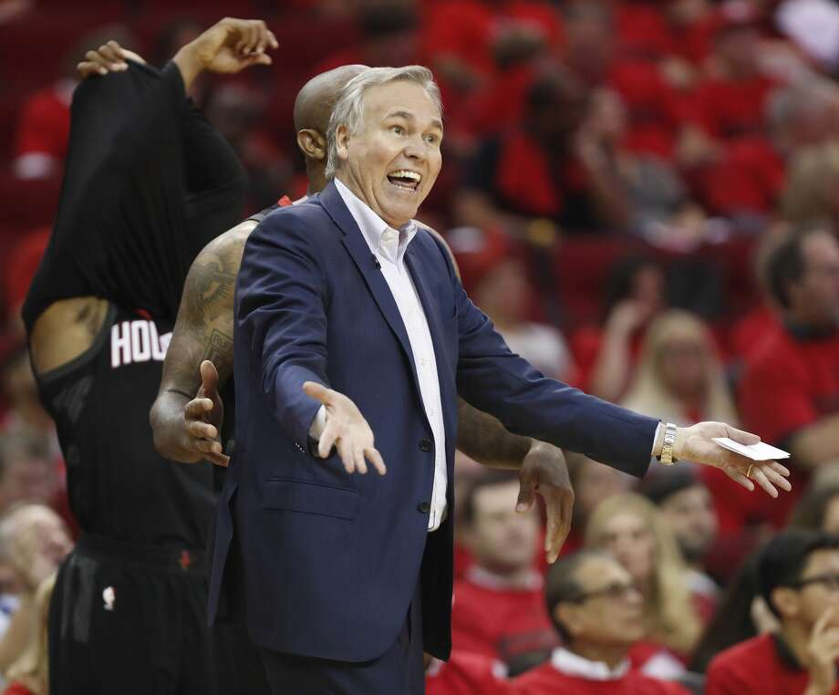 As the Rockets head to Salt Lake City, confidence remains high for coach Mike D'Antoni and his charges despite the Jazz's series-tying win in Game 2. Photo: Brett Coomer/Associated Press