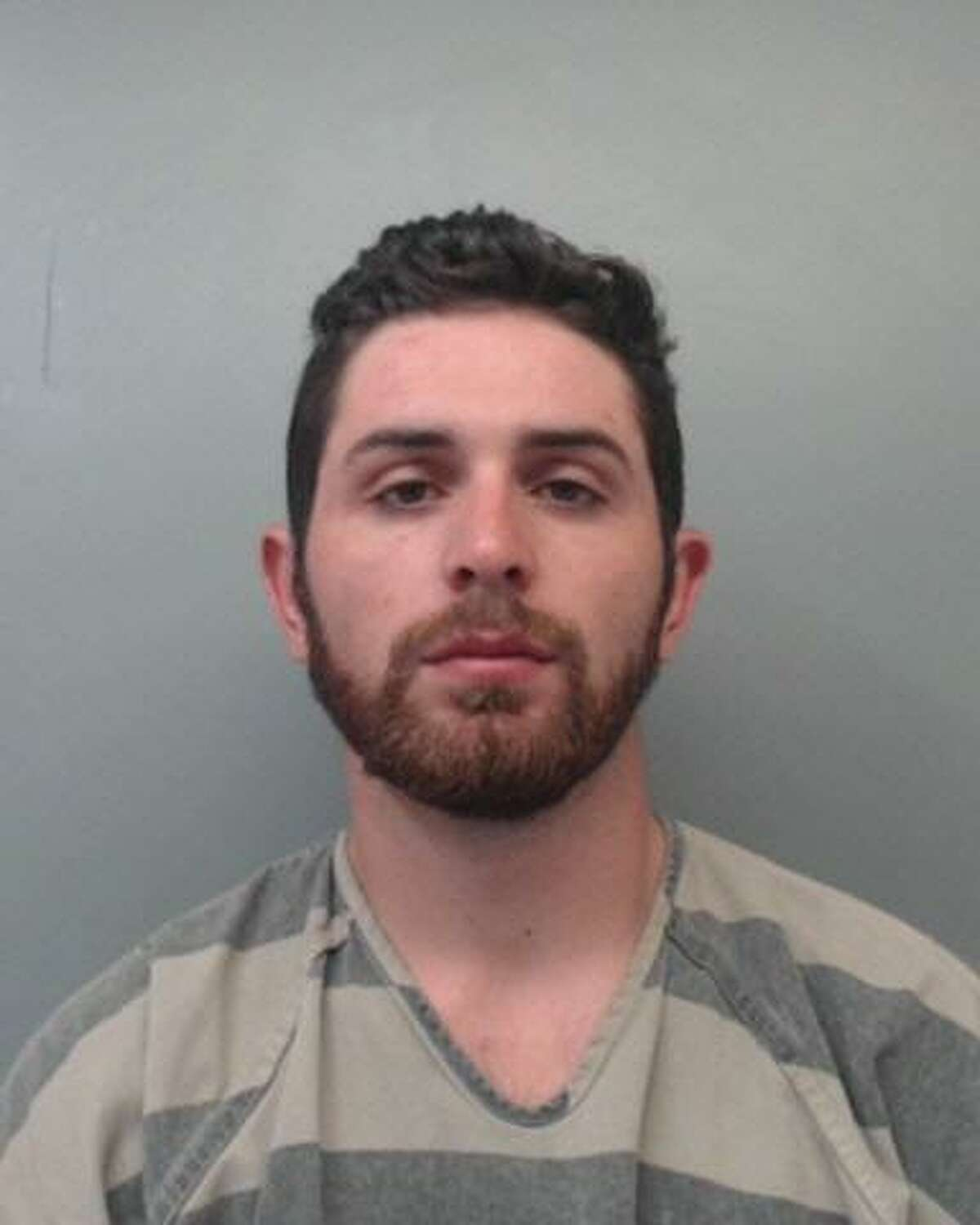 Marcelo Garza Ferrara, 23, was charged with evading arrest with a vehicle, evading arrest on foot, resisting arrest, possession of marijuana and retaliation.