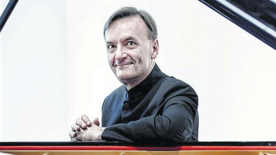 """Multi-talented pianist Stephen Hough will join the Illinois Symphony Orchestra this weekend for its """"Beautifully Beethoven & Brahms"""" concert."""