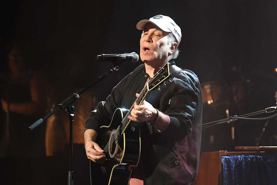 FILE - Paul Simon performs onstage during the Brooks Brothers Bicentennial Celebration at Jazz At Lincoln Center on April 25, 2018 in New York City. Simon was released onstage on April 25, 2018 in New York during the Brooks Brothers Bicentennial Celebration at Jazz At Lincoln Center.