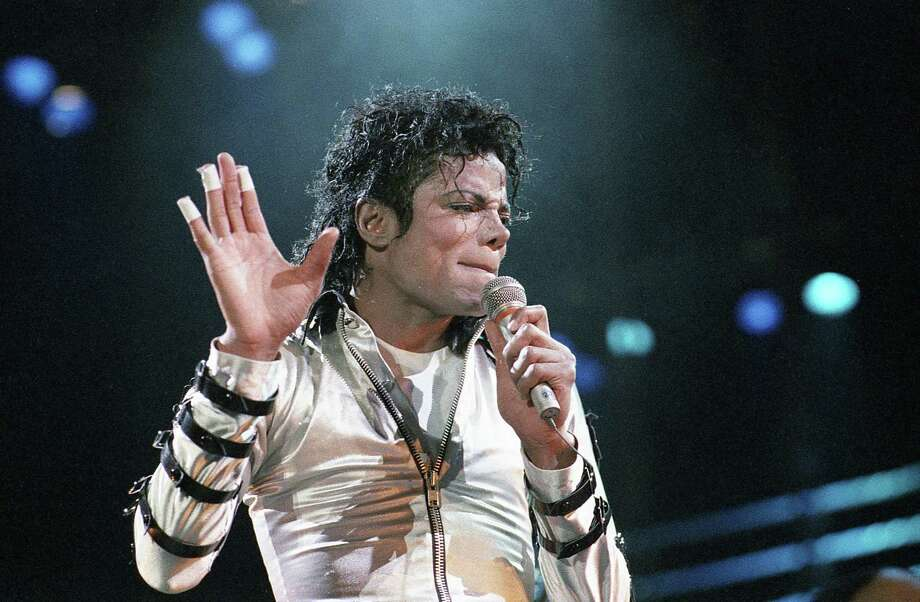 Michael Jackson at the Summit, April 8, 1988. Photo: Paul S. Howell, Houston Chronicle