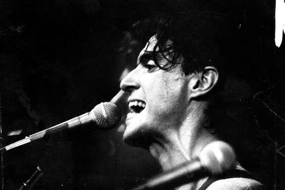 Singer David Bryne of the Talking Heads, Sept.28, 1979.