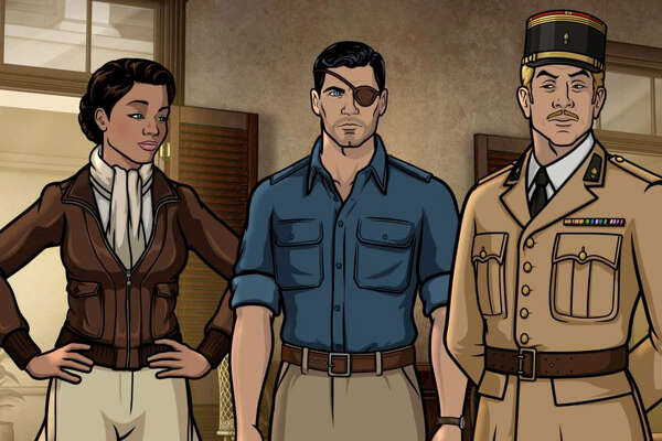 """The """"Archer"""" characters find themselves on an island in 1939."""