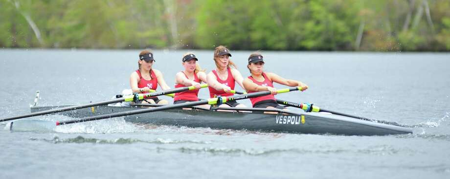 File photo of a regatta on Lake Waramaug. May 2017 Courtesy of The Gunnery Photo: Contributed Photo / Contributed Photo