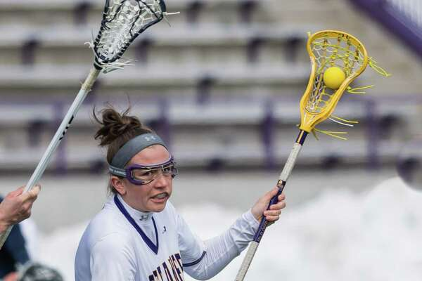 University at Albany women's lacrosse player Kendra Barbinger of Clifton Park. (Bill Ziskin/University at Albany)
