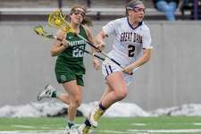 University at Albany women's lacrosse player Kendra Barbinger of Clifton Park. (Bill Ziskin/University at Albany)