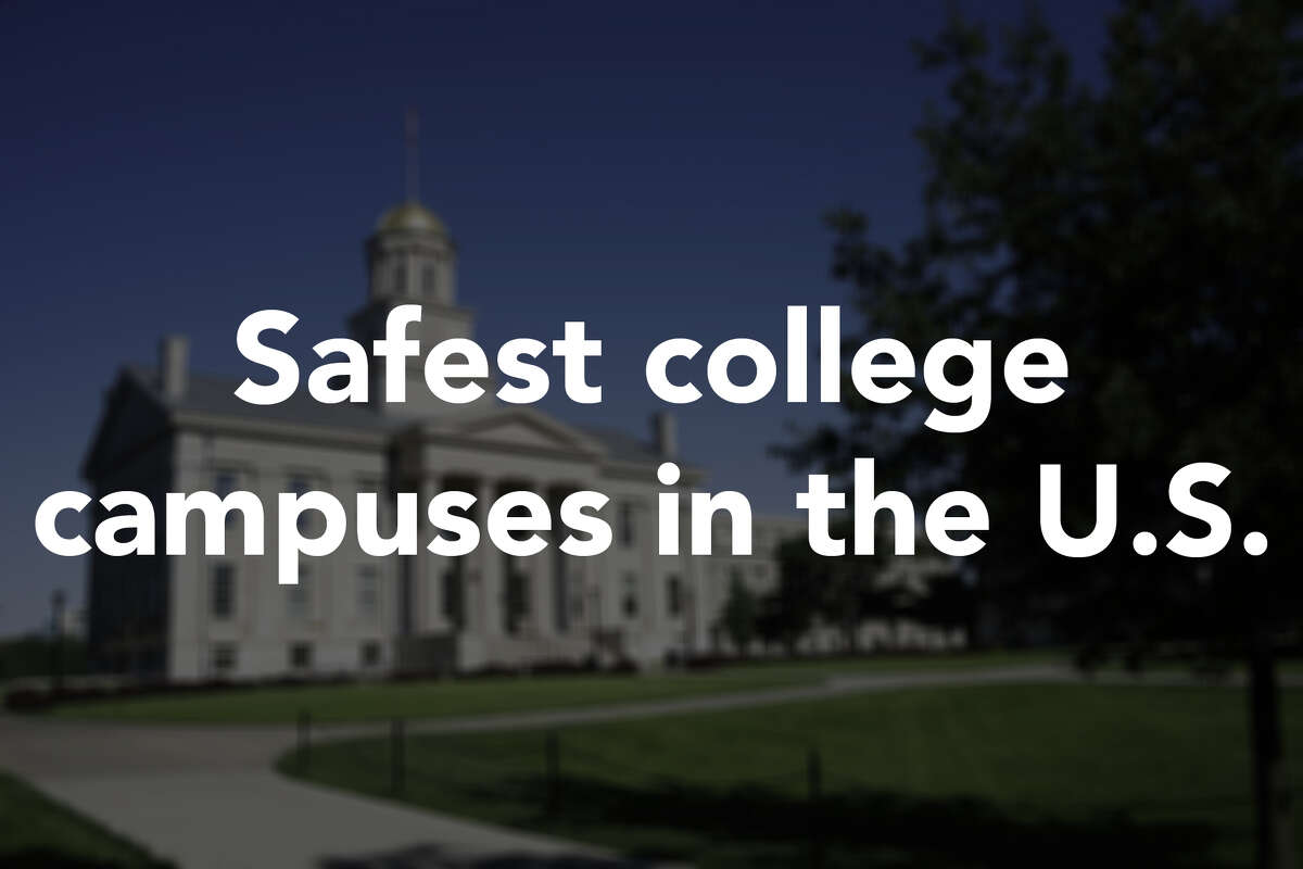 These are the safest college campuses in the U.S., according to security firm ADT. Click through to see them all.