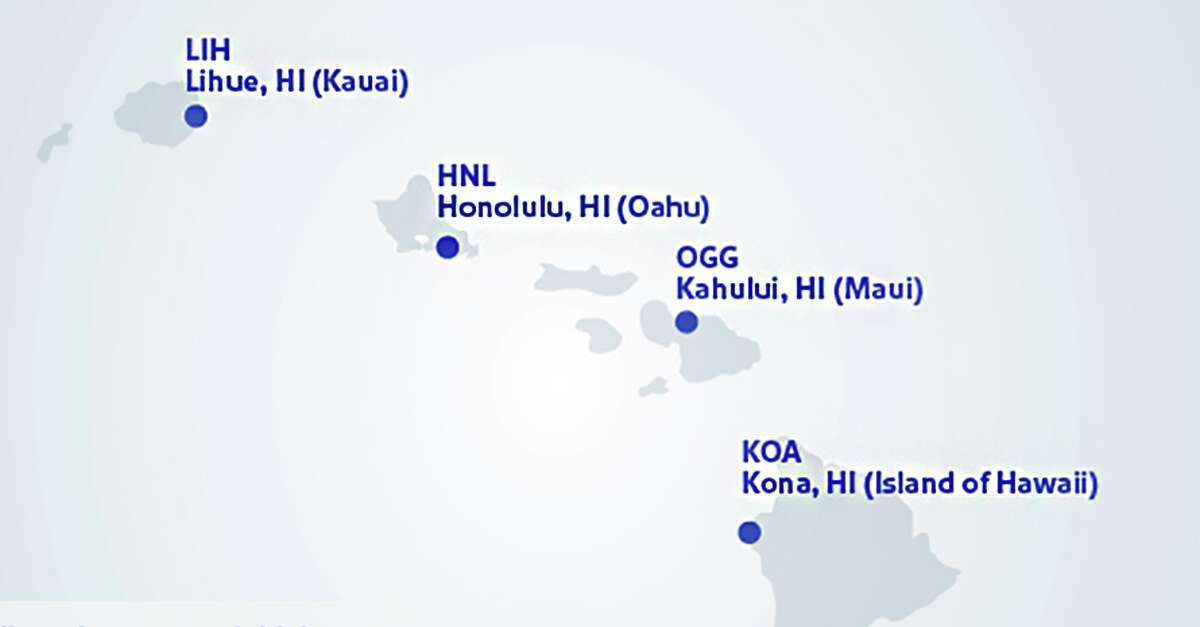 This week Southwest Airlines reveal four cities it would fly to in Hawaii