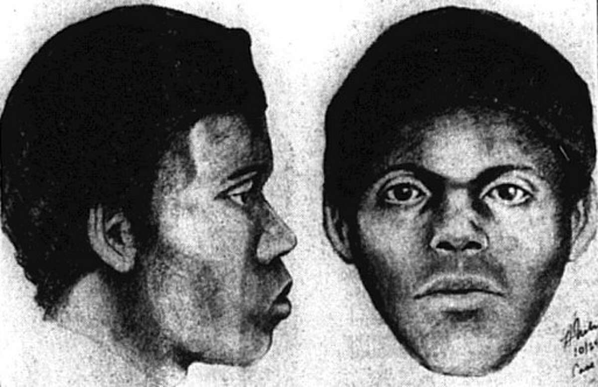 A police sketch of a suspect in the Doodler serial killings in San Francisco in the mid-1970s.