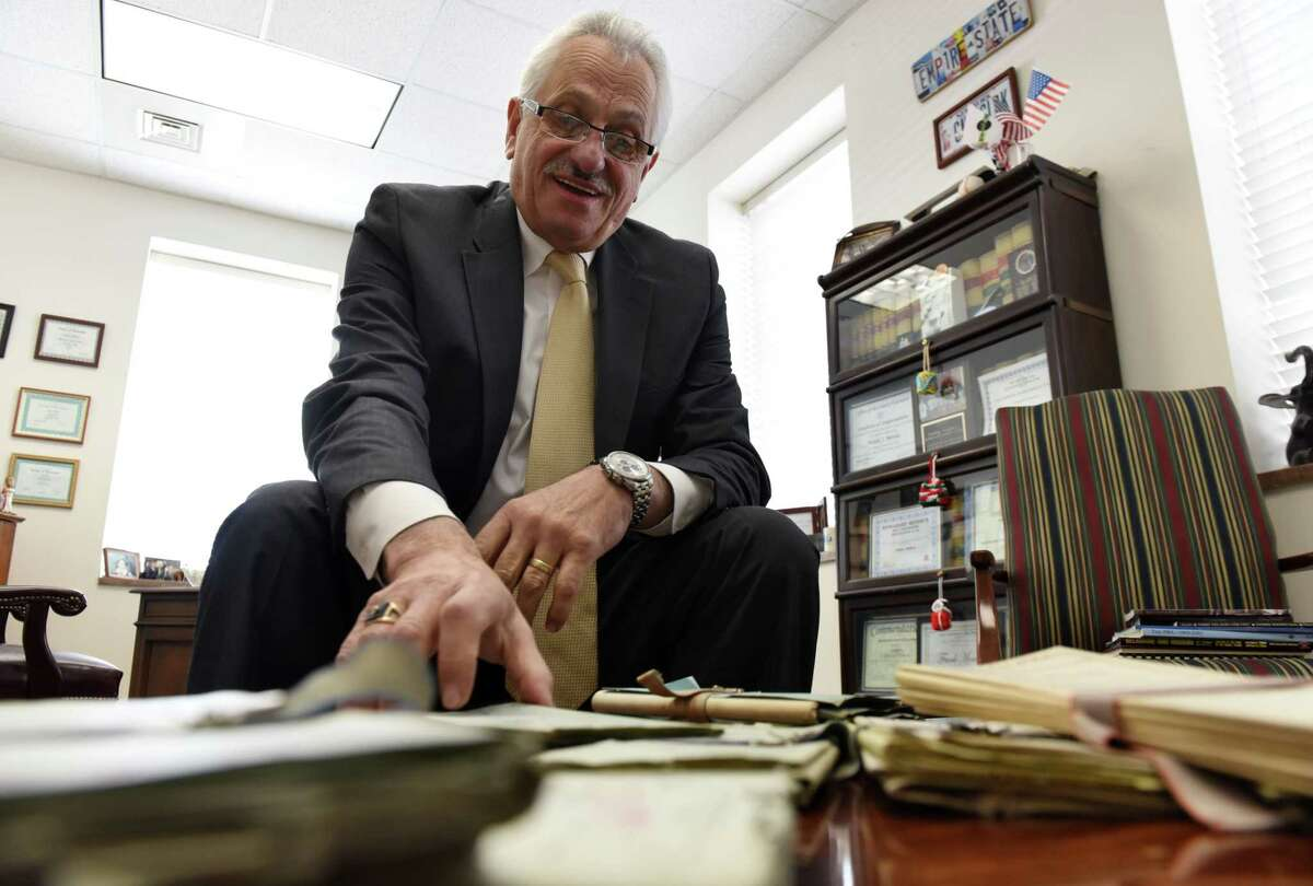 Rensselaer County Clerk Frank Merola is considering a run for the 43rd Senate District (Will Waldron/Times Union)