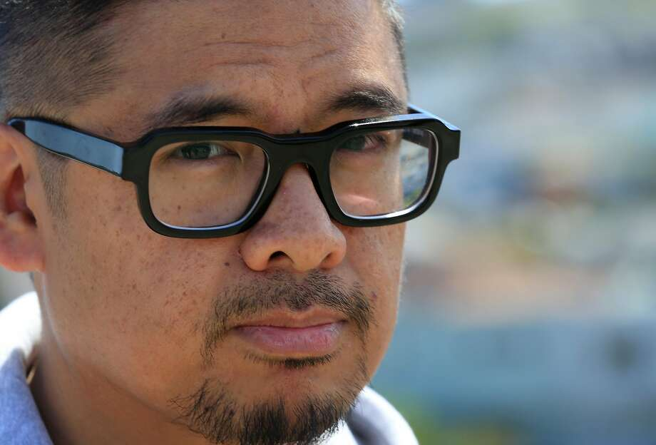 Filmmaker H.P. Mendoza stands for a portrait in the Excelsior District on Tuesday, April 24, 2018 in San Francisco, Calif. Photo: Lea Suzuki / The Chronicle