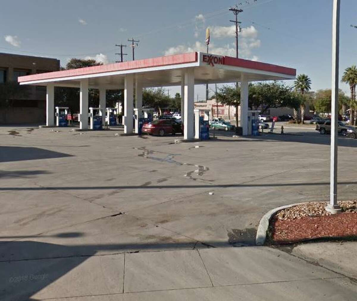 Exxon Location:2102 Southwest Military Drive Dates: May 3 Number of skimmers found: 1