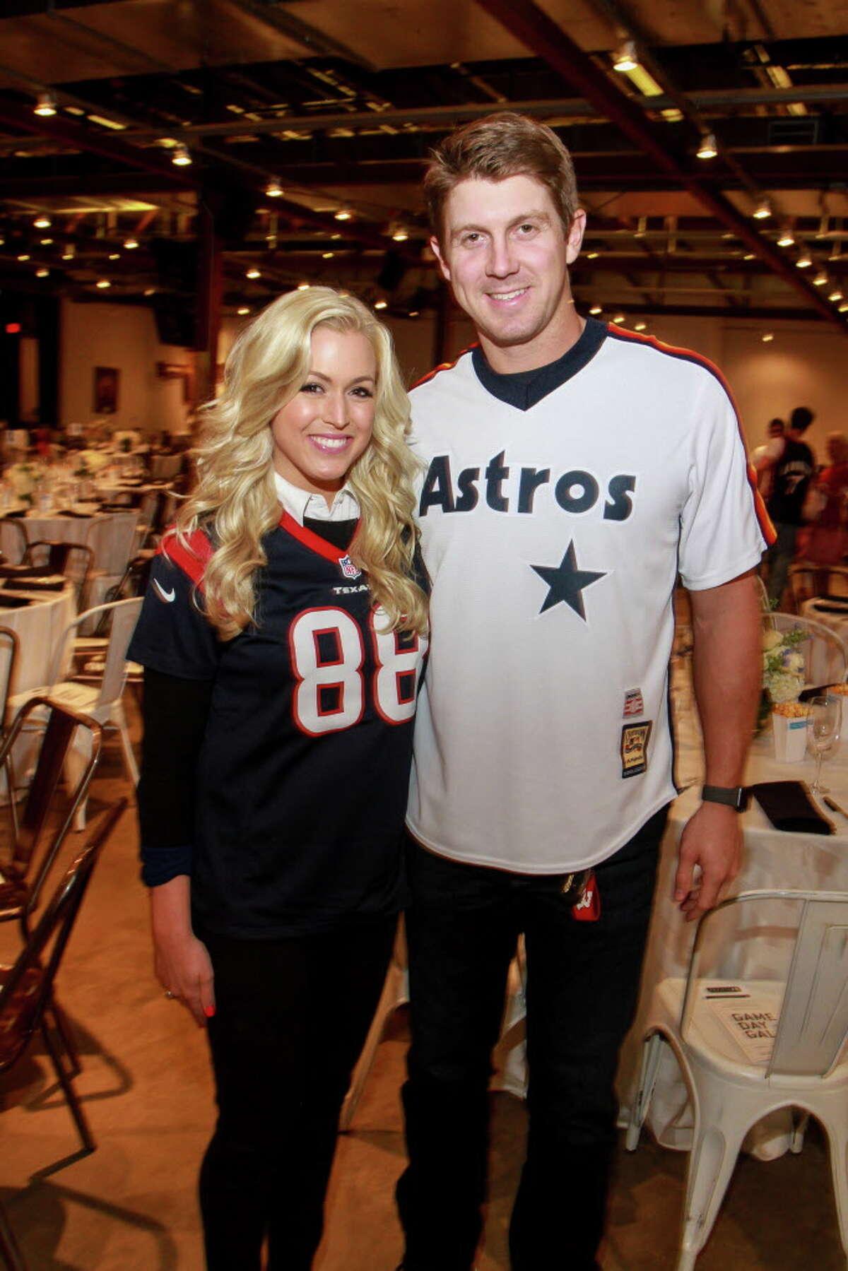 Ericka and Garrett Graham at the Project 88