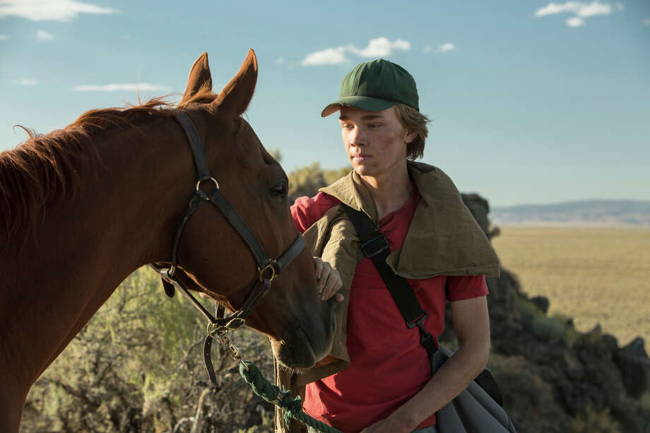 "This image released by A24 films shows Charlie Plummer in a scene from the film, ""Lean on Pete."" (Scott Patrick Green/A24 via AP) Photo: Scott Patrick Green / Lean on Pete LLC"