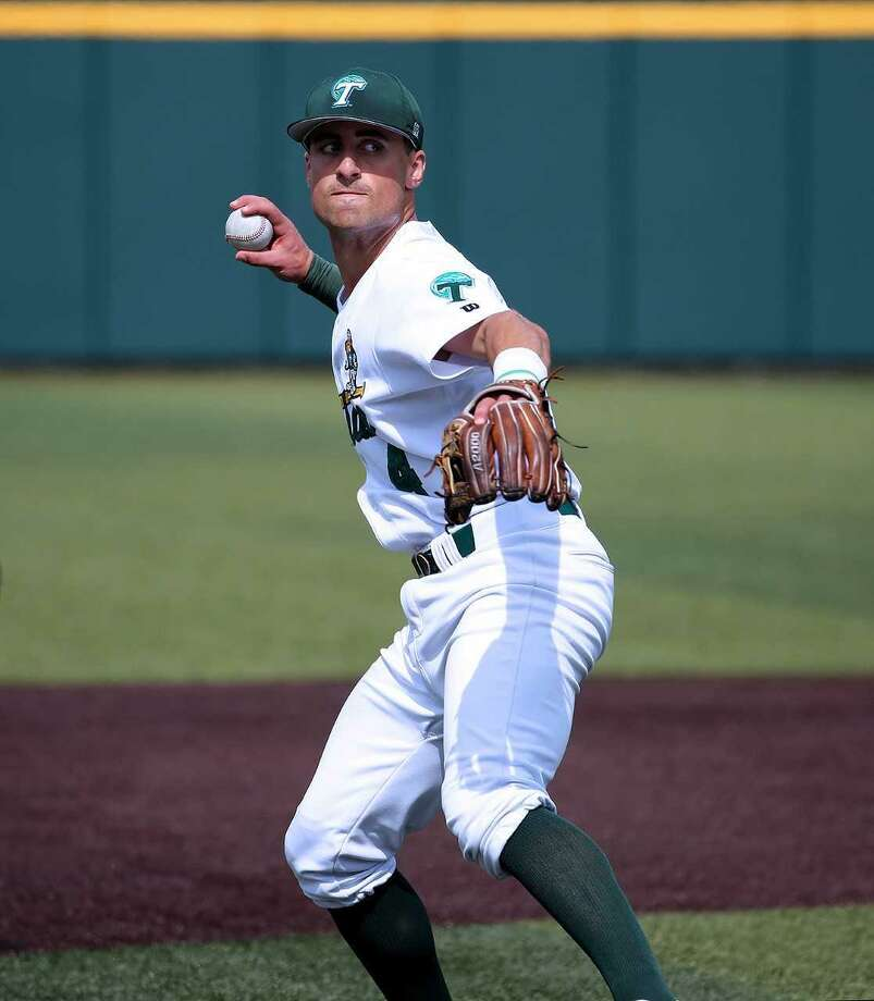 Wallingford's Sal Gozzo returns to Connecticut to face UConn this weekend at Dunkin' Donuts Park in Hartford. Photo: Courtesy Of Tulane Athletics