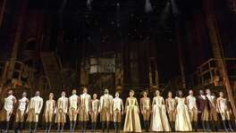 "The national touring cast of ""Hamilton."""