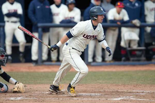 Catcher Zac Susi is second on UConn with a .320 batting average.