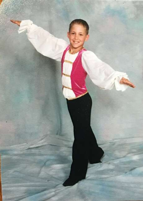 As a child, A's starter Daniel Mengden took ballet lessons along with his siblings. Photo: Courtesy Beth Mengden