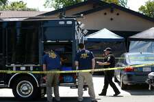 An FBI forensics team continues to collect evidence from the home of Joseph DeAngelo in Citrus Heights, Calif. on Thursday, April 26, 2018. Authorities arrested DeAngelo Wednesday as the suspect who is believed to be the East Side Rapist and Golden State Killer who committed multiple crimes.
