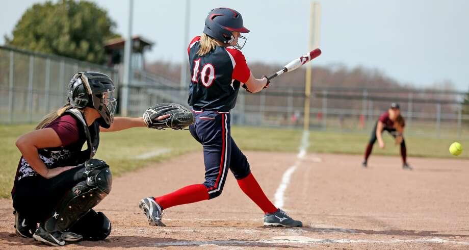 Cass City at USA — Baseball/Softball 2018 Photo: Paul P. Adams/Huron Daily Tribune