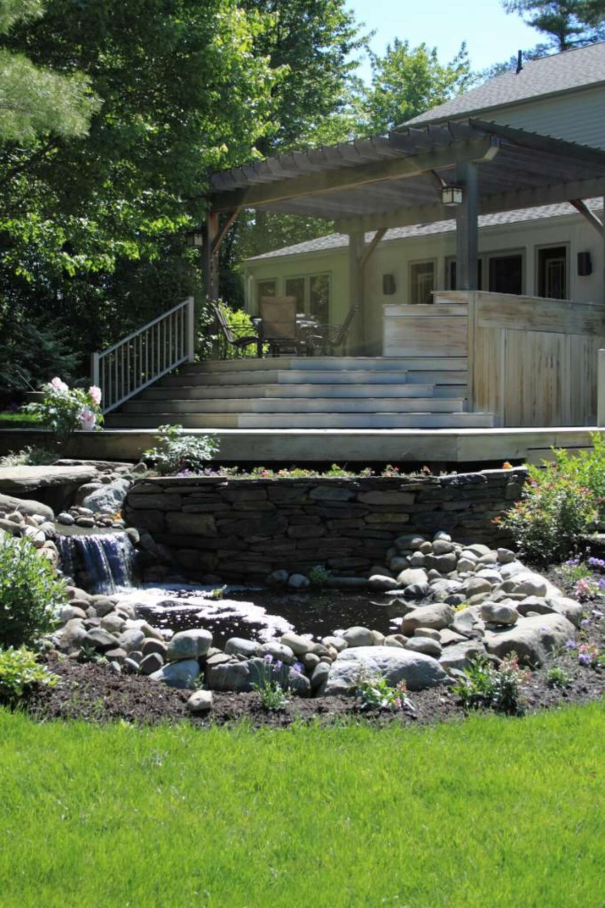 Jean and Marty Kaback have created a suburban oasis. (Nancy Bruno / Life at Home)